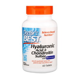 Hyaluronic Acid + Chondroitin Sulfate with Collagen (60 tabs)