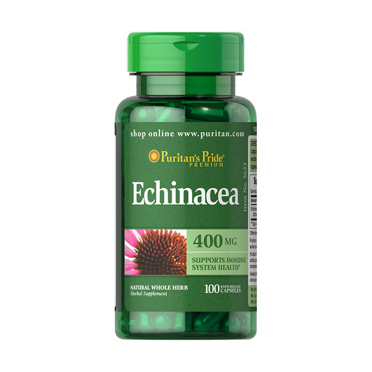 Echinacea 400 mg (100 caps)
