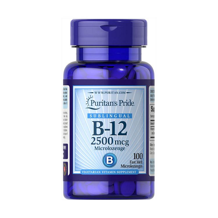 Vitamin B-12 2500 mcg (100 lozenges)