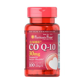 Q-Sorb Co Q-10 30 mg (100 softgels)