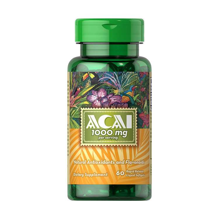 Acai 1000 mg (60 softgels)
