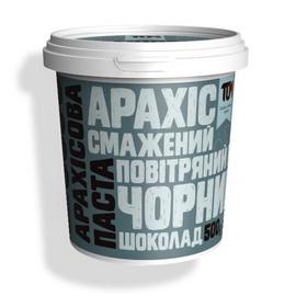 Арахисовое масло с черным шоколадом и воздушным рисом (500 g)