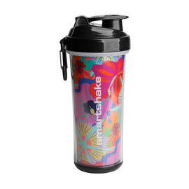 SmartShake Double Wall Flower Power (750 ml)