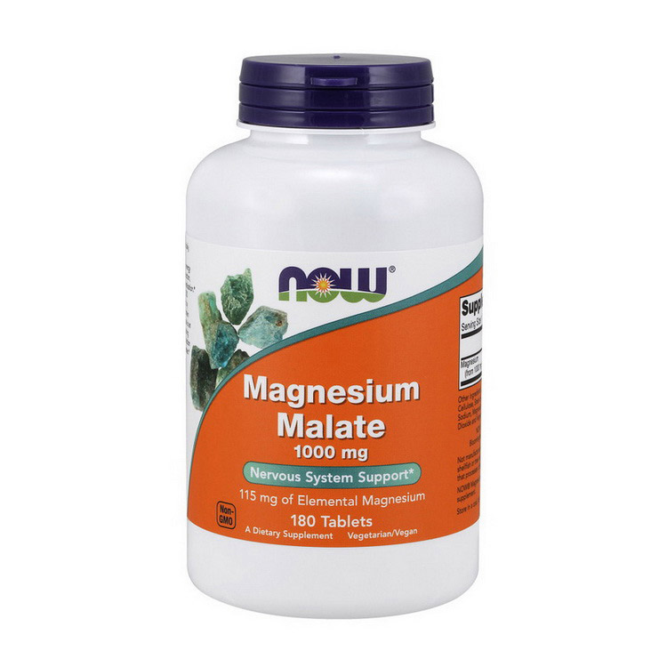 Magnesium Malate 1000 mg (180 tabs)