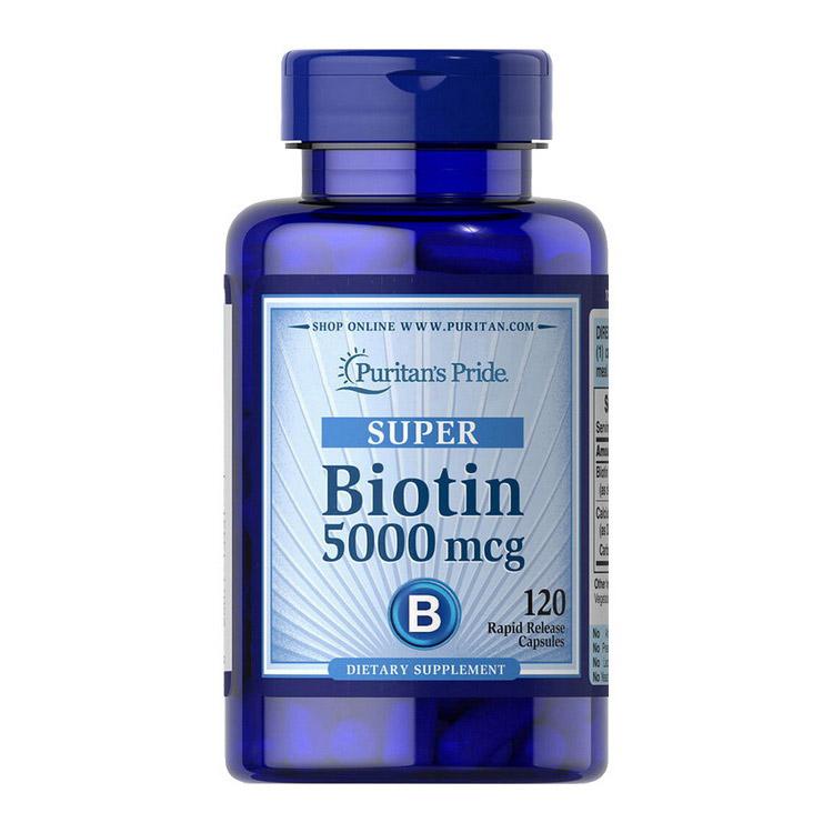 Biotin 5000 mcg (120 caps)