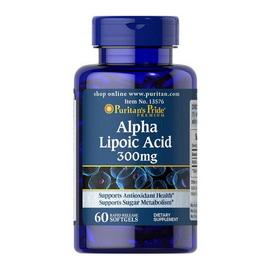 Alpha Lipoic Acid 300 mg (60 softgels)