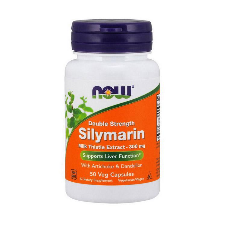 Silymarin Milk Thistle Extract 300 mg (50 veg caps)