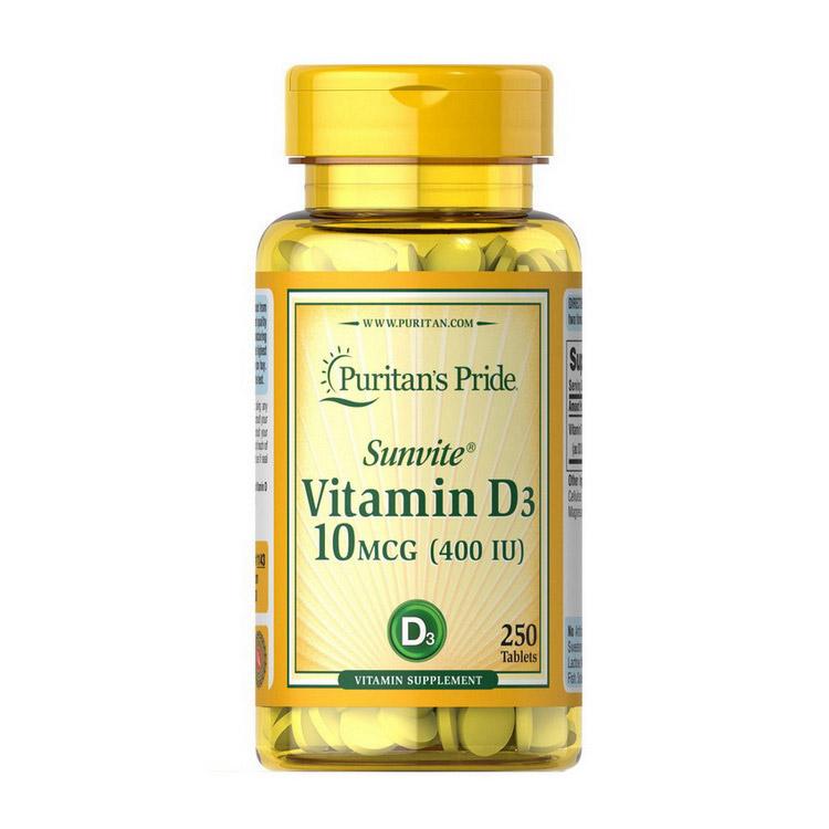 Vitamin D3 400 IU (250 tabs)