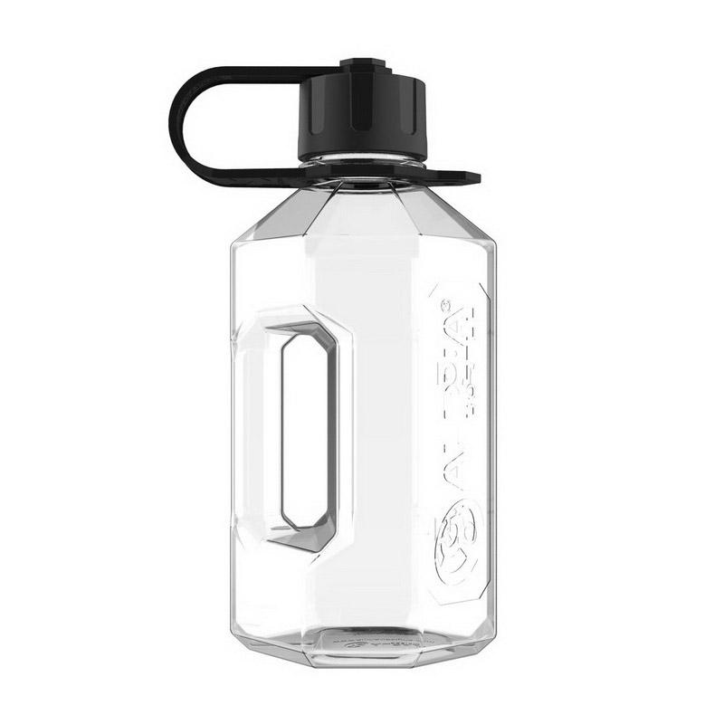 Water Jug Clear/Black (1,2 l)