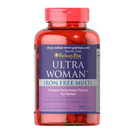 Ultra Woman Iron Free Multi (90 caplets)