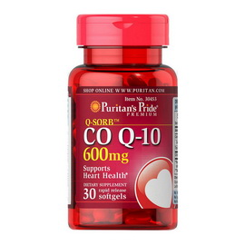 Q-Sorb Co Q-10 600 mg (30 softgels)