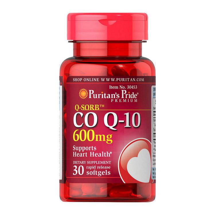 Q-Sorb Co Q-10 600 mg (30 softgels)