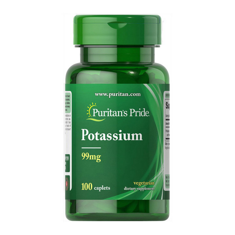Potassium 99 mg (100 caplets)