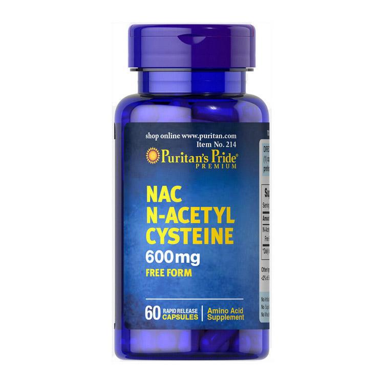 NAC N-Acetyl Cysteine 600 mg (60 caps)