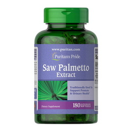 Saw Palmetto Extract (180 softgels)