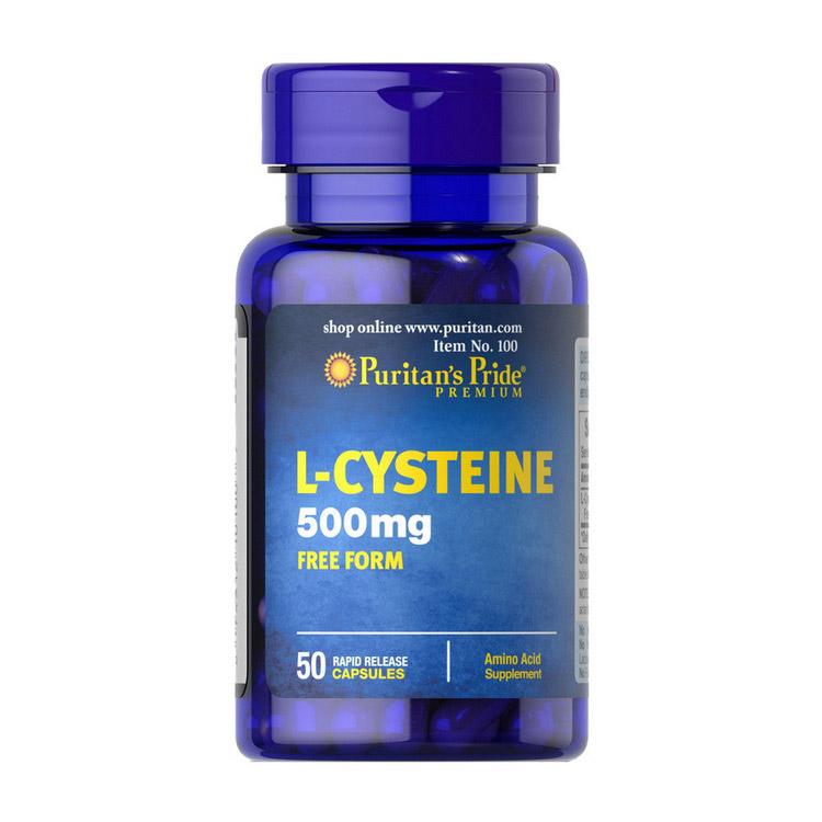 L-Cysteine 500 mg (50 caps)