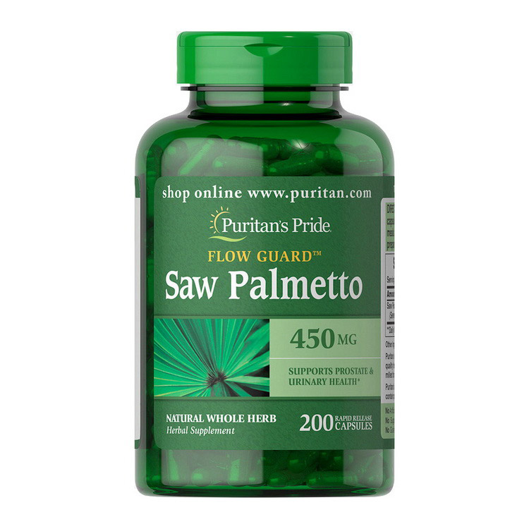Saw Palmetto 450 mg (200 caps)