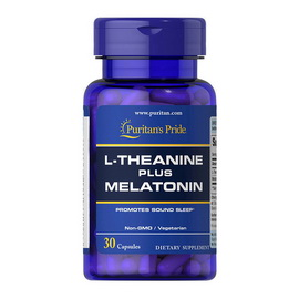 L-Theanine Plus Melatonin (30 caps)