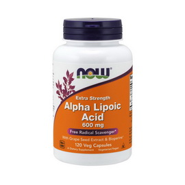 Extra Strength Alpha Lipoic Acid 600 mg (120 caps)
