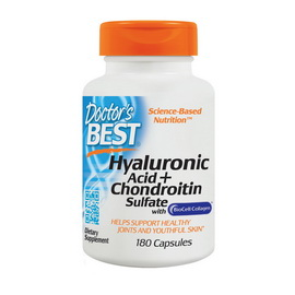 Hyaluronic Acid + Chondroitin Sulfate with Collagen (180 caps)