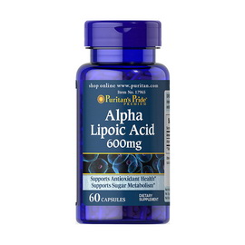 Alpha Lipoic Acid 600 mg (60 caps)