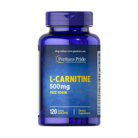 L-Carnitine 500 mg (120 caplets)