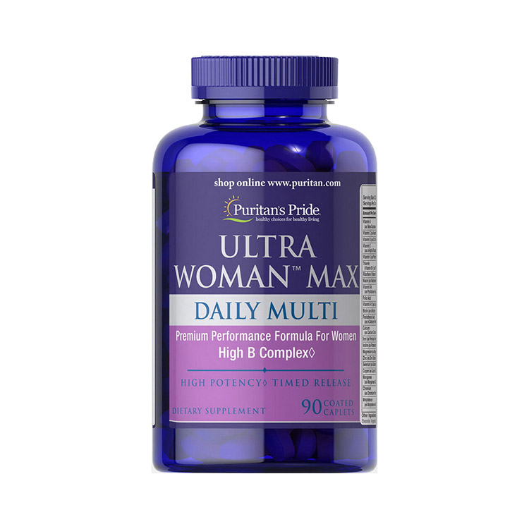 Ultra Woman Max Daily Multi (90 caplets)