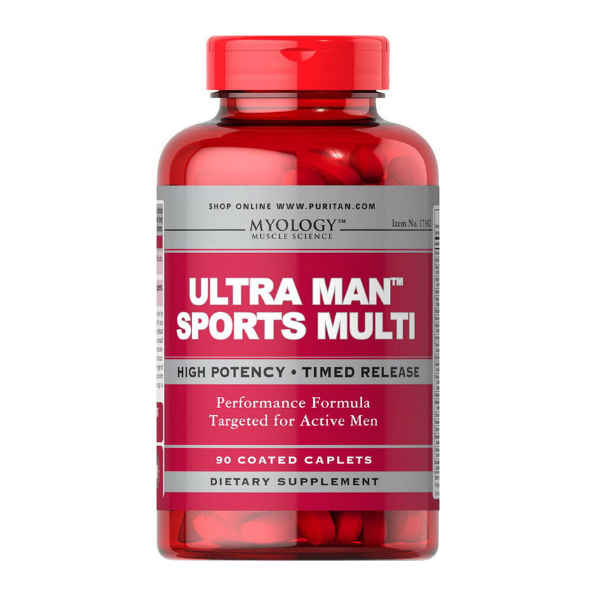 Ultra Man Sports Multi (90 caplets)