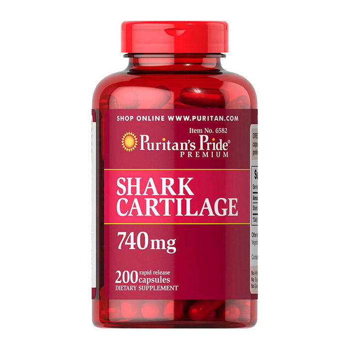 Shark Cartilage 740 mg (200 caps)