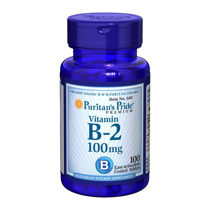 Vitamin B-2 100 mg (100 tabs)