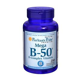 Mega B-50 B-Complex Vitamin (250 caplets)
