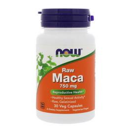 Raw Maca 750 mg (30 veg caps)
