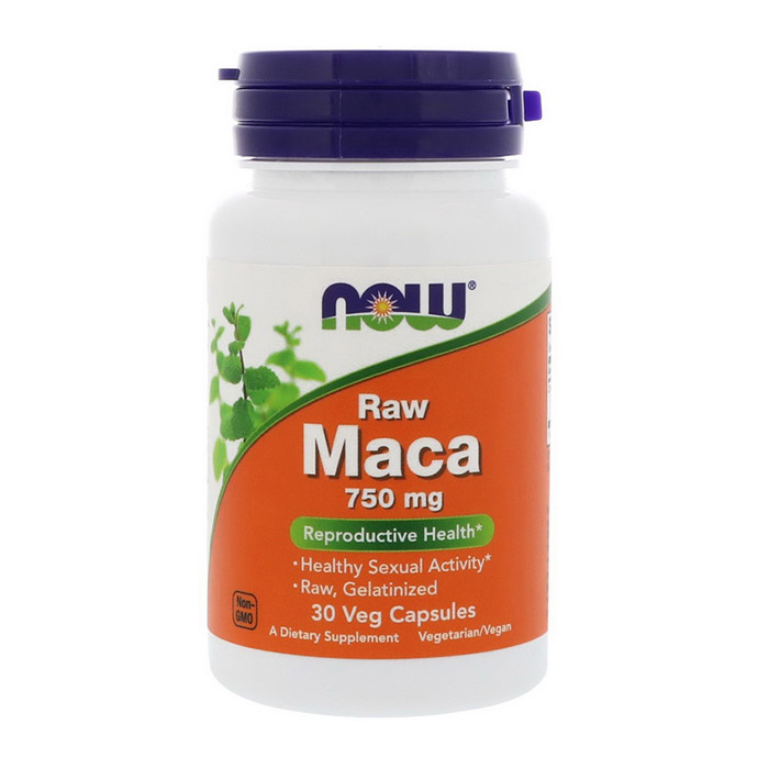 Raw Maca 750 mg (30 veg caps)