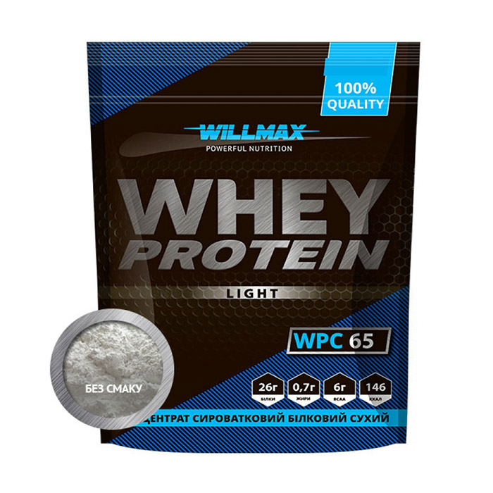 Whey Protein Light 65% Unflavored (1 kg)