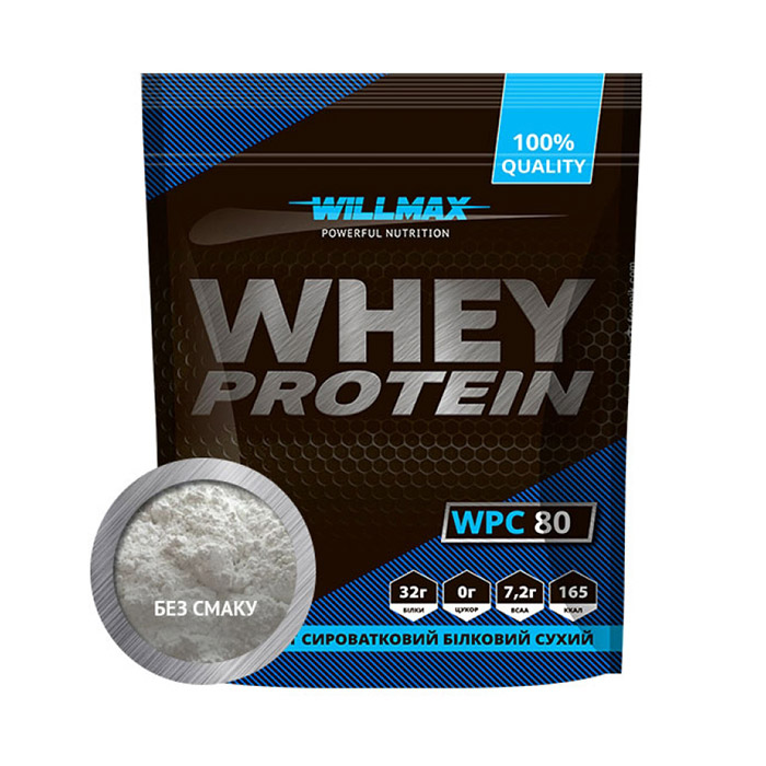 Whey Protein 80% Unflavored (1 kg)
