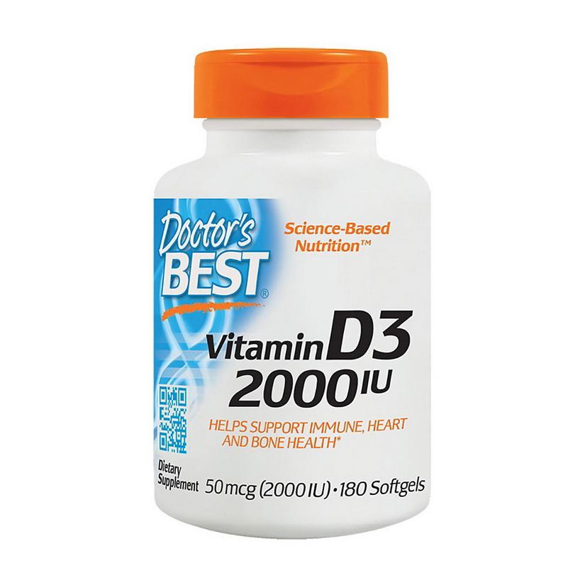 Vitamin D3 2000 IU (180 softgels)