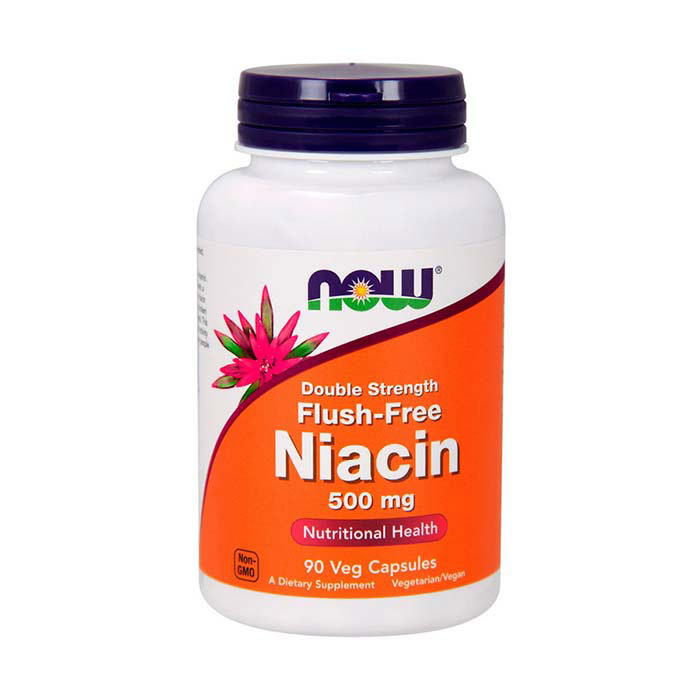 Niacin 500 mg Flush-Free Double Strength (90 veg caps)