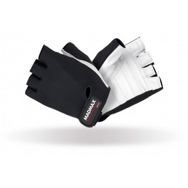 Basic Workout Gloves MFG-250 White/Black (S, M, L, XL, XXL)