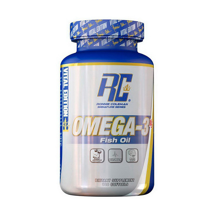 Omega-3 Fish Oil (120 softgels)