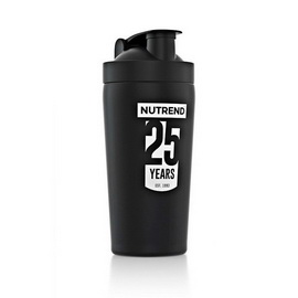 Shaker Nutrend 25 Years Steal Black (780 ml)