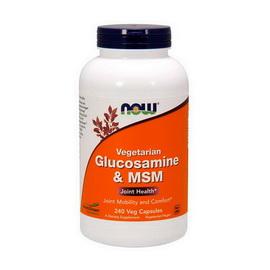 Vegetarian Glucosamine & MSM (240 veg caps)