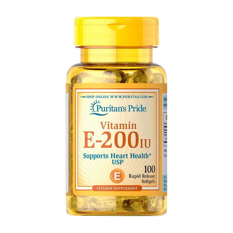 Vitamin E-200 IU (100 softgels)