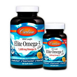 Elite Omega 3 1600 mg (90+30 softgels)