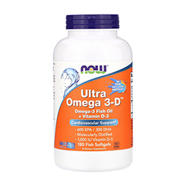 Ultra Omega 3-D (180 softgels)