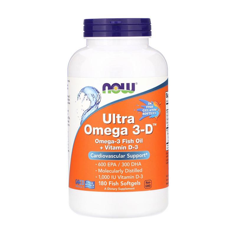 Ultra Omega 3-D (180 softgels)