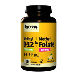 Methyl B12 & Methyl Folate plus P-5-P (B6) (100 lozenges)