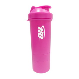 Shaker ON 3 in 1 with Metal Ball Pink (600 ml)