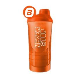 Shaker Wave + 3 in 1 Never Stop Orange (500 ml)