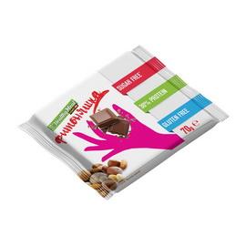 Протеиновая шоколадка Молочный шоколад с орехами (1 x 70 g)