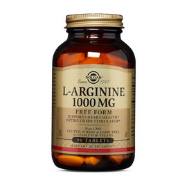 L-Arginine 1000 mg (90 tabs)